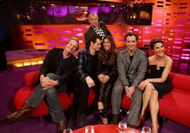 tamsin greig looks fabulous in this dress on graham norton.