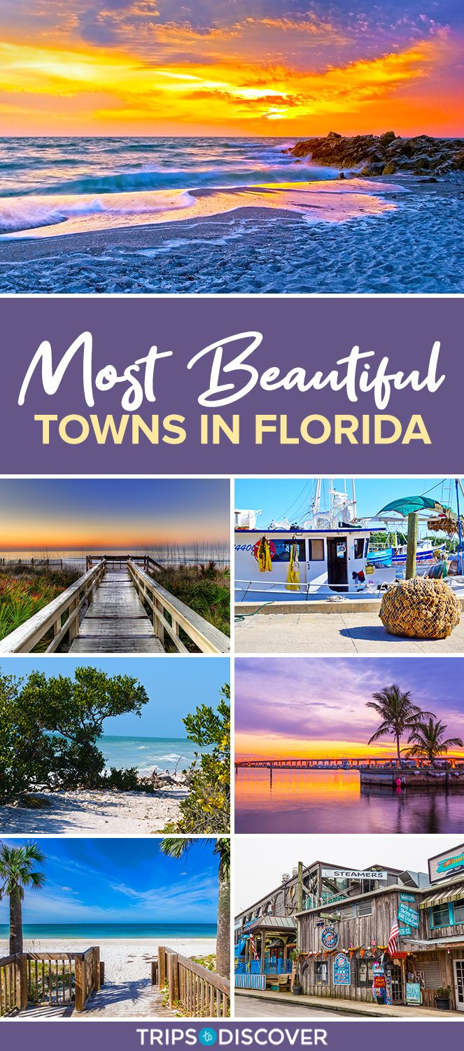 14 Of The Most Beautiful Towns In Florida In 2021 Florida Travel Destinations Romantic Travel Destinations Florida