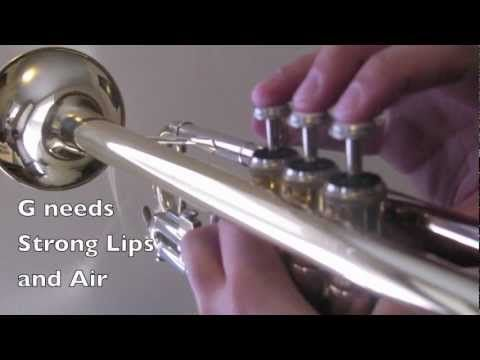 How to Play Trumpet - First 5 Notes - YouTube