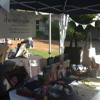 iheartcharlie@ the Margaret River Handmade Markets