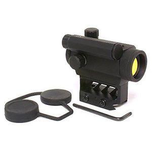 a black spider optics micro red dot sight 3 moa high profile black m0129