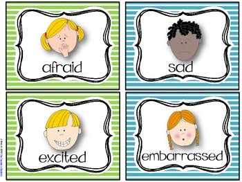 EMOTIONS Free! activities  to help teach  students about different emotions and what could cause someone to feel that way....19 pages