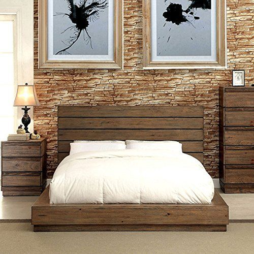 This Coimbra Rustic Finish 6-Piece Bedroom collection will be the perfect addition to any home looking to revamp their interior décor. The low profile bed features a plank style headboard to enhance the wooden construction while all items feature a flat sturdy base with darker toned paneling, ... more details available at https://furniture.bestselleroutlets.com/bedroom-furniture/bedroom-sets/product-review-for-coimbra-rustic-finish-queen-size-6-piece-bedroom-set/