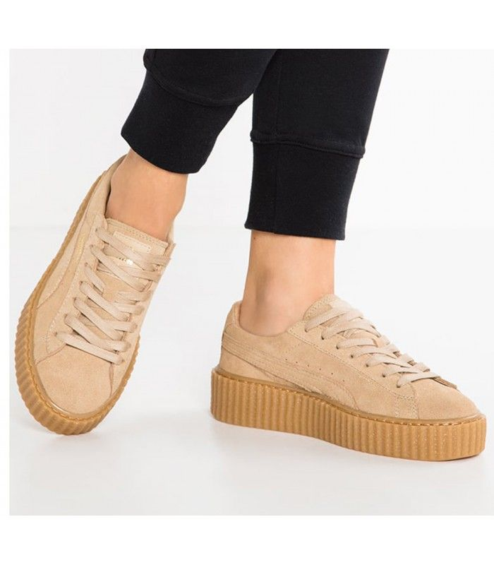 fenty puma by rihanna creeper beige