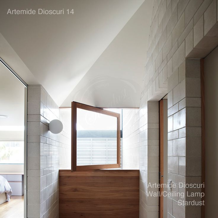 Artemide Dioscuri 14 Wall/Ceiling Lamp by Michele De Lucchi