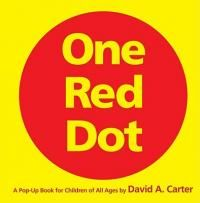 A+Classic+Collectible+Pop-Up(TM)One+Red+DotA+Pop-Up+Book+for+Children+of+All+Agesby+David+A.+CarterOne+Red+Dot+is+a+stunning+tour+de+force+from+David+A.+Carter,+the+creator+of+the+bestselling+Bugs+in+a+Box(R)+books.Each+of+the+ten+magnificent+pop-up+sculptures+challenges+readers+to+find+the+one+red+dot.+From+the+flip-flop+flaps+to+the+whimsical+wiggle-wobble+widgets,+each+page+is+an+original+piece+of+artwork+to+cherish+and+admire.