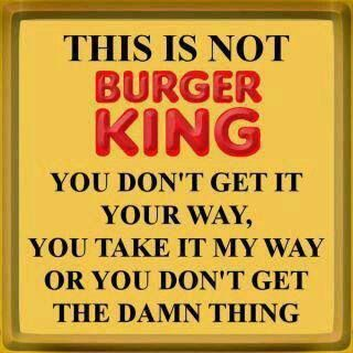 *****THIS IS NOT BURGER KING!!!!*****