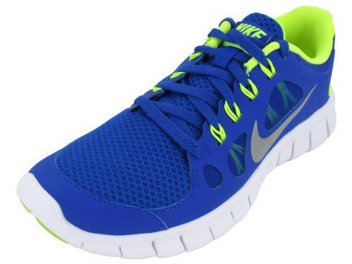 Nike Kids Shoes Boys Nike Free 5.0 (GS) Boys Running Shoes 580558-400                                 synthetic-and-mesh                    Lightweight mesh with dynamic quarter creates a snug, flexible fit that moves with the natural moti                    Injected Phylon midsole for lightweight cushioning.                    Deep Nike Free sipes for excellent range of motion and a natural, barefoot-like feel                    Reinforced outsole rubber on high-wear areas for durability