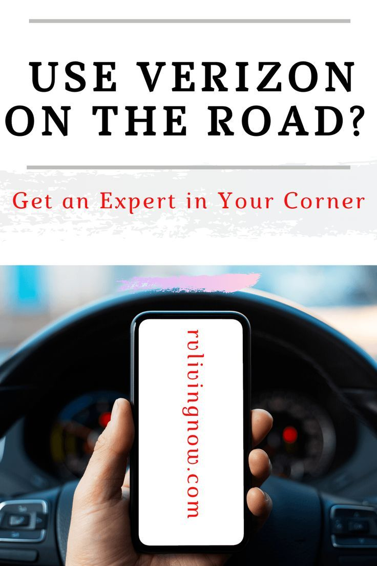 Use Verizon On The Road Get An Expert In Your Corner Motorhome