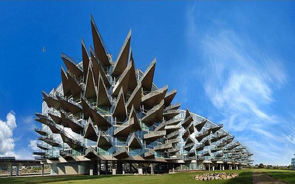 The VM House in Copenhagen: Vm House, Balconies Design, Punk Rocks, Copenhagen Denmark, High Ris Balconies, House Architecture, Outdoor Theater, Amazing High Ris, Jds Architects