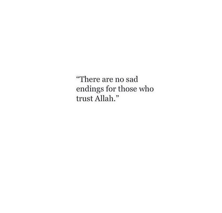I trust you always.