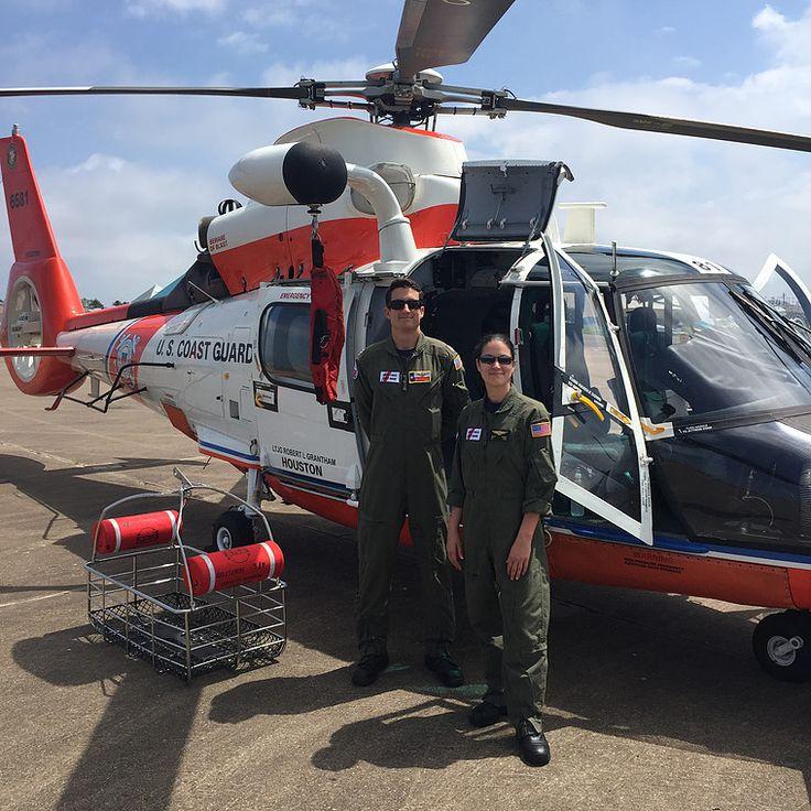 Scholes International Airport   NOAA Hurricane Awareness Tour   US Coast Guard Helicopter