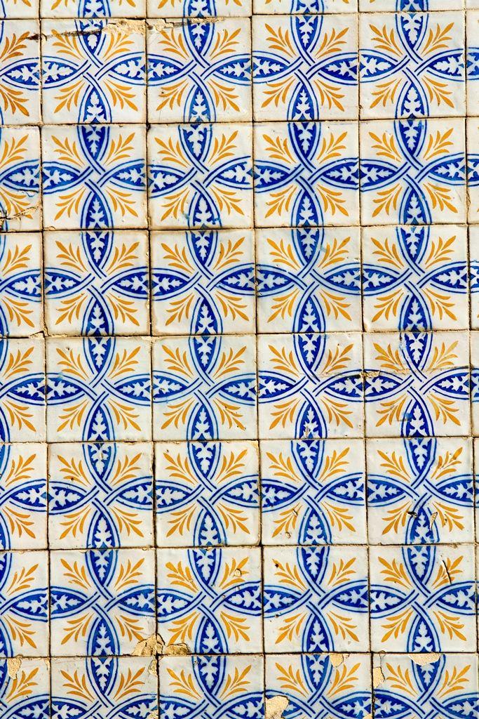 Azulejo Português - Cidade de Beja, Alentejo - Portugal.