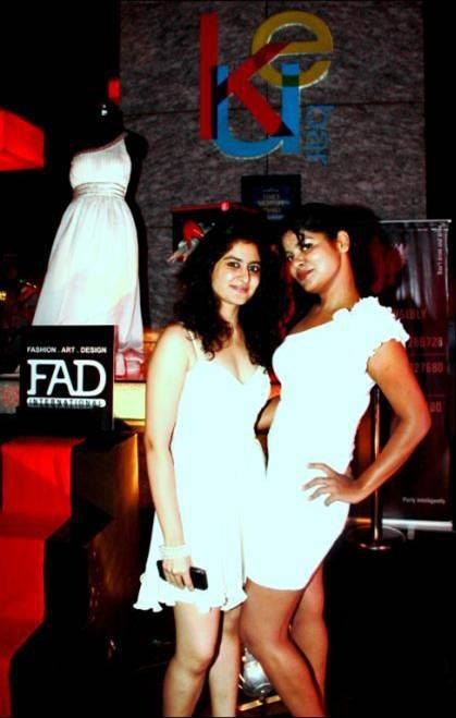 Smirnoff Fashion Friday Rouge + White Fashionista Contest Winners - Shazia & Angie