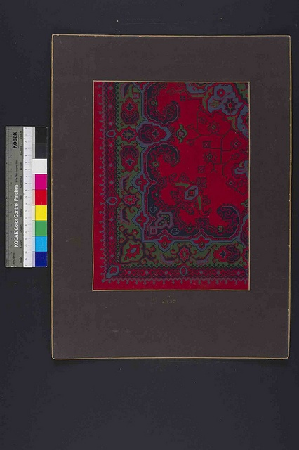 Stoddard-Templeton Design: Assorted Persian Bordered Squares (STOD/DES/111/27) | Flickr - Photo Sharing!