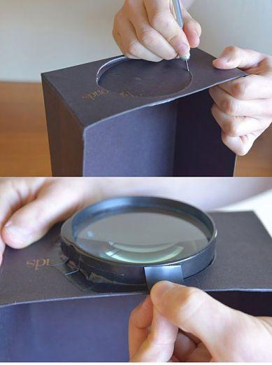 Initiales GG ... : DIY : un vidéo projecteur pour smartphone!