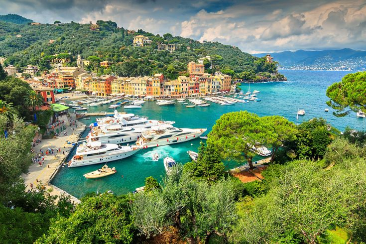 The beautiful Italian Riviera - the perfect place for romantic destination weddings