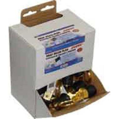 Sea Sense Drain Plug 1' Snap Brass 24pc Display