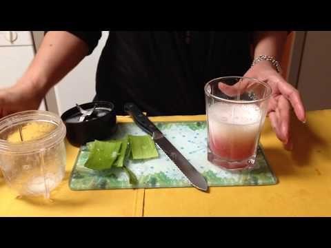 Como Cure Mi Gastritis y Reflujo con Sabila - YouTube