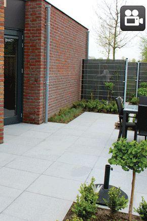 119 beste afbeeldingen over bestrating terras op pinterest tuinen daktuinen en decks - Vinyl imitatie tegel ...