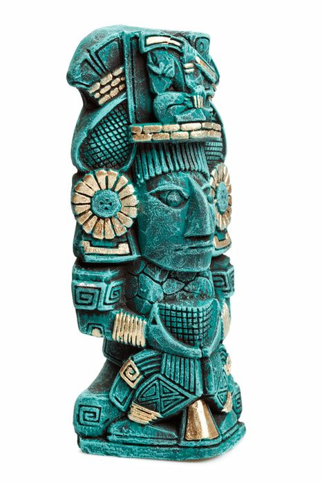 Mayan God statue http://gotomexico.co.uk/