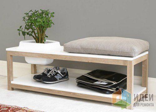 Скамейка-клумба для поклонников эко-дизайна, Bellila