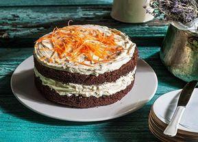 Τούρτα καρότου με κακάο Ένα ιδιαίτερο γλυκό της Αργυρώς Μπαρμπαρίγου, βασισμένο στο δημοφιλέστατο κέικ καρότου, μοιράζεται σήμερα μαζί σας ...