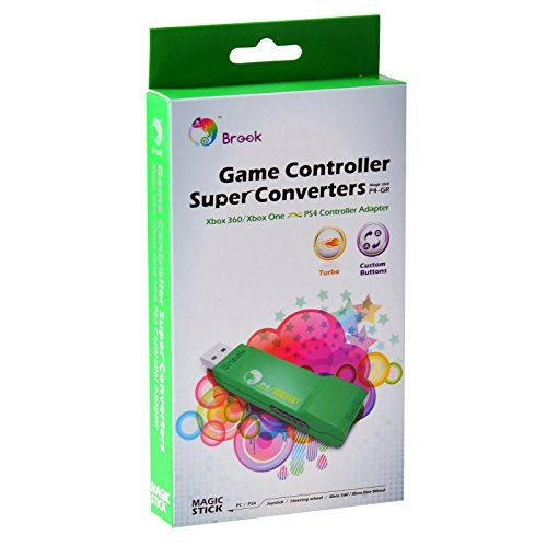 Discounted Gam3Gear Brook XBox 360 / Xbox ONE to PS4 Super Converter Controller Gaming Adapter with FREE Keychain