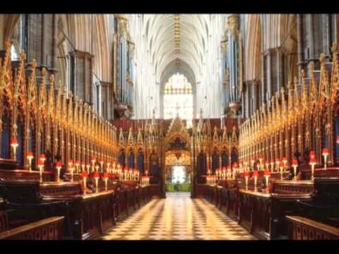 Zadok the Priest — Choir of Westminster Abbey - YouTube