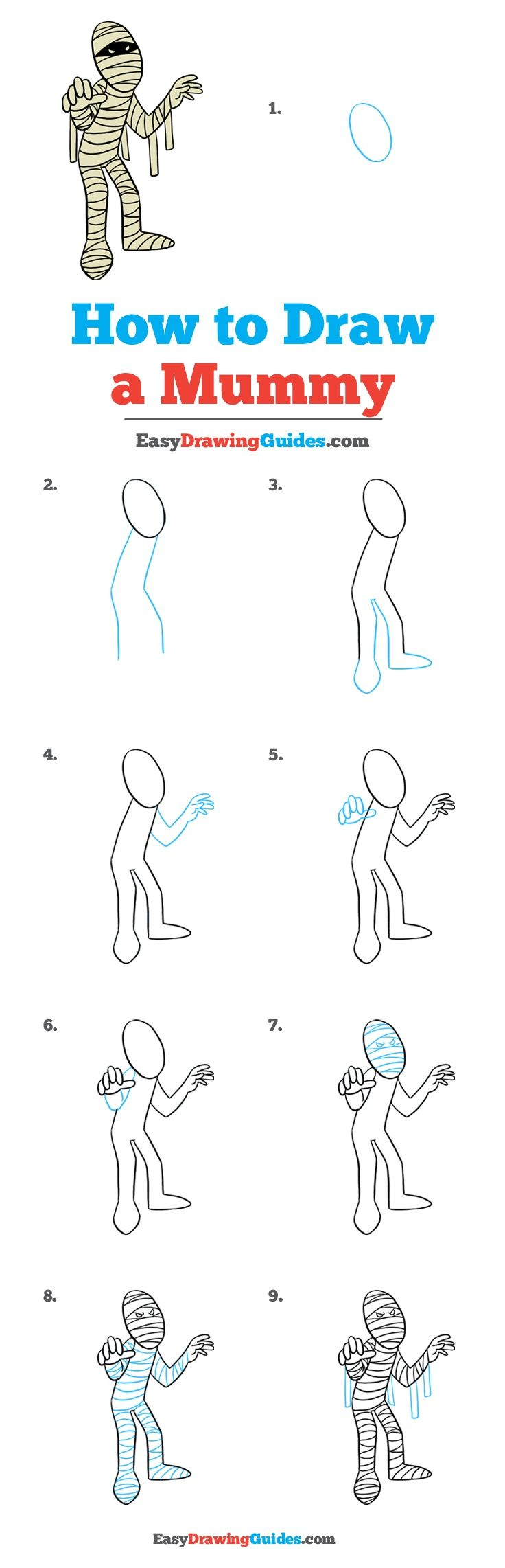 Uncategorized Easy Drawing Tutorials 617 best easy drawing tutorials ideas by guides how to draw a mummy really tutorial