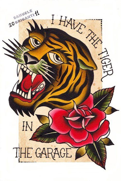 Old School Tattoo Tatouage
