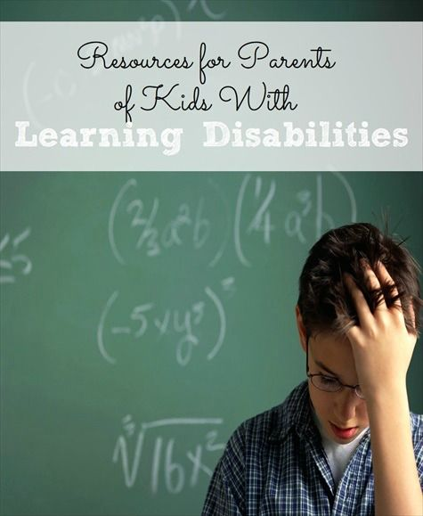 Resources for parents of kids with learning disabilities