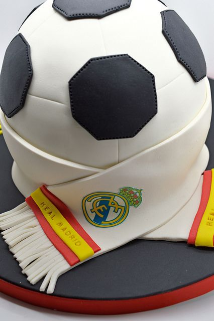 Pastel del Real Madrid