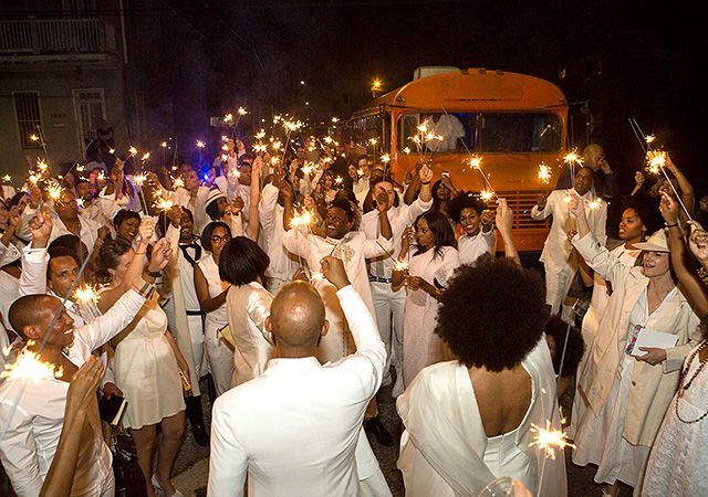 Big Easy bash! After a longtime romance, Solange Knowles married her director beau Alan Ferguson in an all-ivory ceremony on Sunday, Nov. 16 in New Orleans. Take a look at the bride, groom, and their 100 plus stylishly garbed guests during the Southern nuptials.