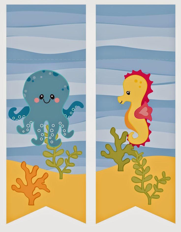 Under the Sea: Free Printable Mini Kit.