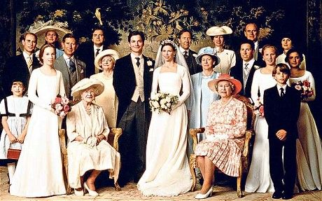 Lady Sarah Armstrong-Jones marries Daniel Chatto. Lady Sarah is the daughter of the late Princess Margaret.