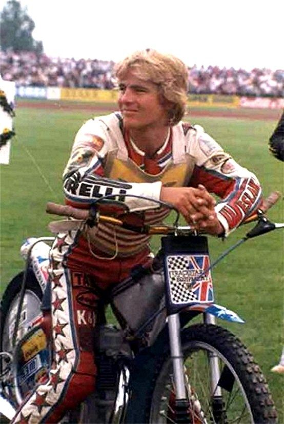 Cradley pin-up - Bruce Penhall