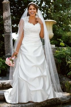 Cool My dream dress love it Cap Sleeved Satin Side Draped A Line Gown David us Bridal mobile