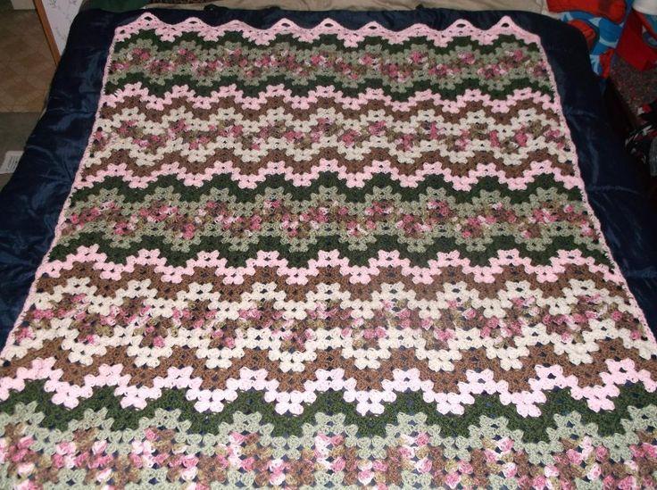 The 78 Best Granny Ripple Images On Pinterest Crochet Blankets