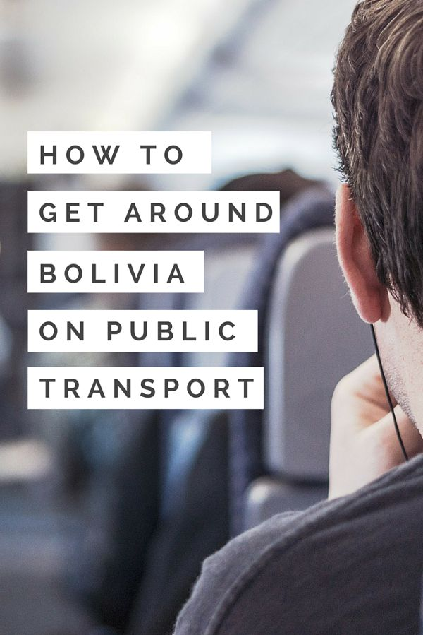 An adventure in itself, navigating Bolivia's rugged topography can leave even professional travelers reeling. Here is the ultimate guide to using public transport in Bolivia: http://www.bolivianlife.com/transportation-in-bolivia/?utm_source=self&utm_medium=slide&utm_content=How+To+Get+Around+Bolivia+on+Public+Transport&utm_campaign=slide