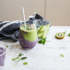 I Quit Sugar - Kiwi Blueberry Mousse Smoothie