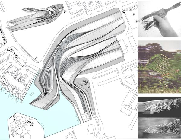 Help with Modeling Limp Curves by Zaha Hadid - Rhino for ...