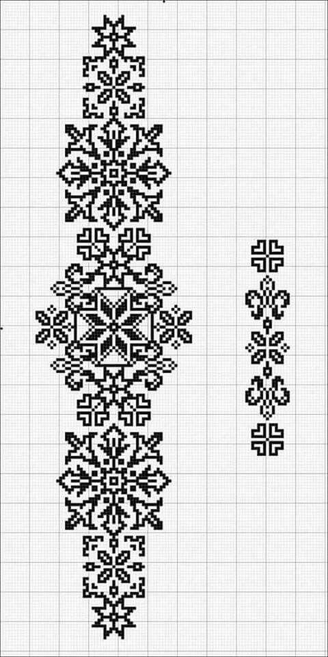 Схема вышивки орнаменты