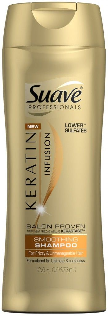 cheap.. but great!! Suave Professionals Keratin Shampoo, Only $0.74 at Target!