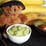 Avokado- & bananvisp   Hälsosamt barnmat