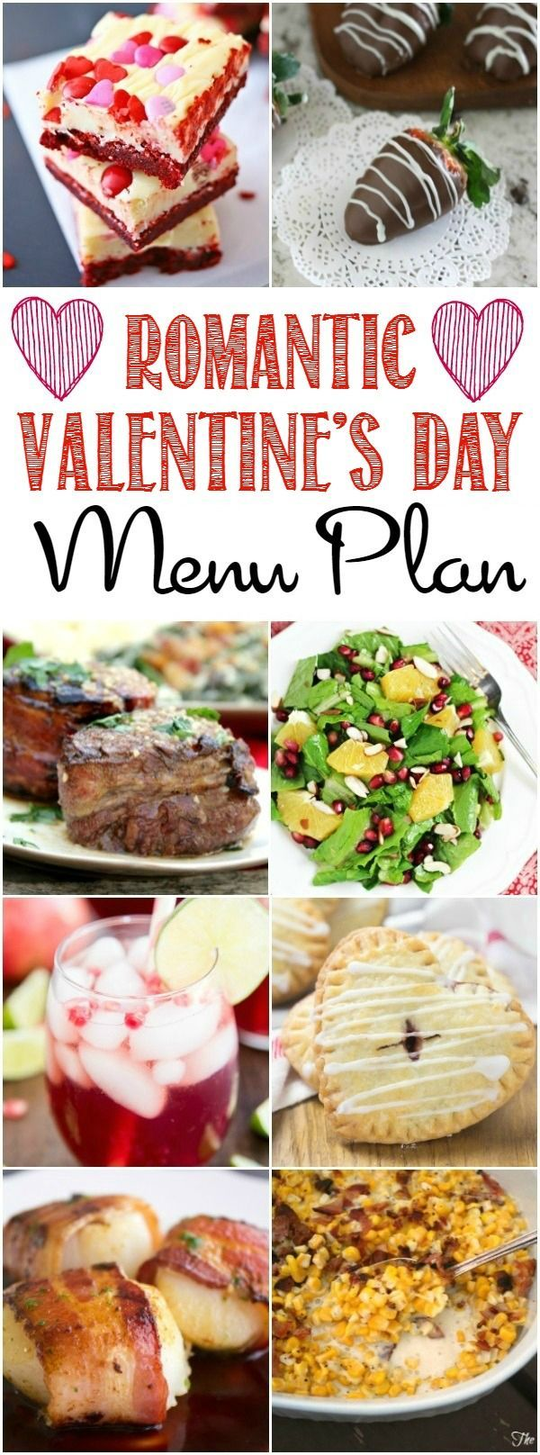 Romantic Valentine S Day Menu Plan 14 Easy Recipes