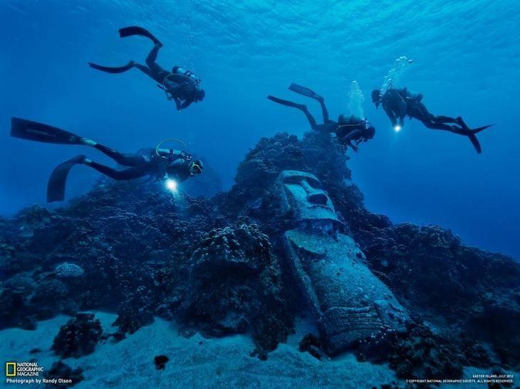 Истуканы острова Пасхи. Обсуждение на LiveInternet - Российский Сервис Онлайн-Дневников