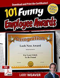 Funny Employee Awards