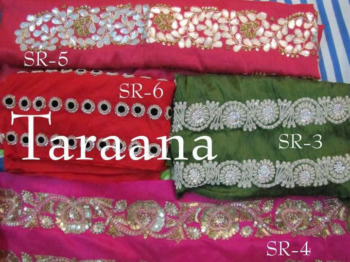 HAND_EMBROIDERED SAREE BORDERS FOR SALE mail to taraanacouture@gmail.com