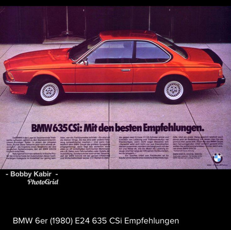1980 BMW 635 CSi (E24) ~ German language by H2074 on Flickr